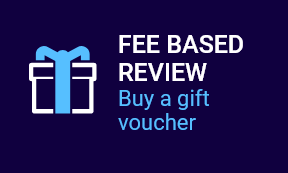 Fee Based Review – Buy a gift voucher