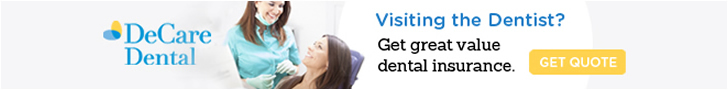 DeCare Dental – Visting the Dentist? Get great value dental insurance – Get Quote...